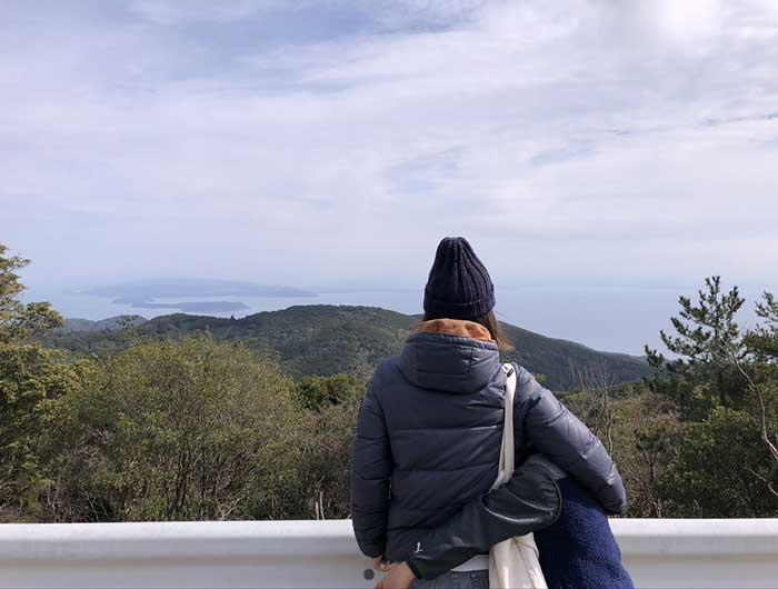 紀伊水道・友ヶ島がよく見えるポイント