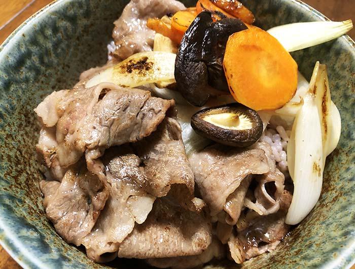淡路ビーフ丼