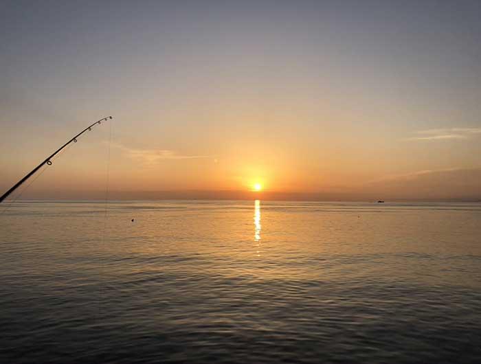 淡路島の日の出