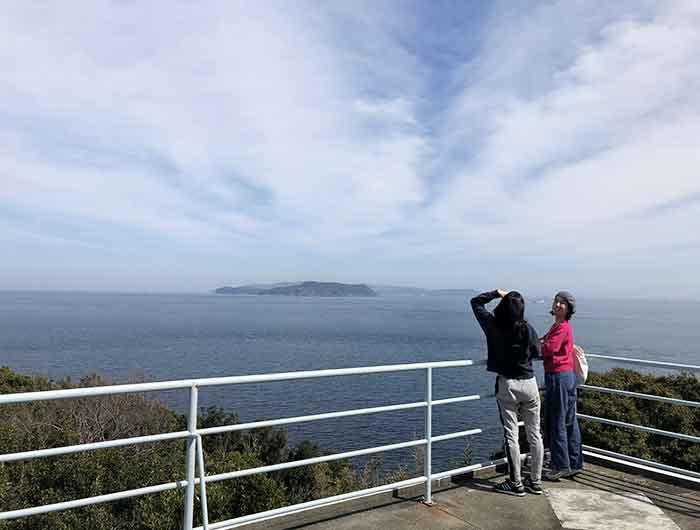 洲本八景3の展望台からの景色