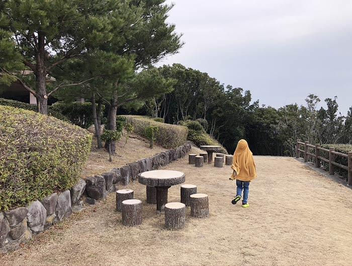 洲本八景2の展望台の様子