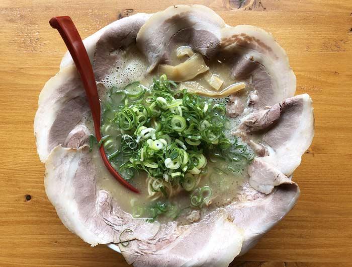銀麺のあっさりチャーシュー