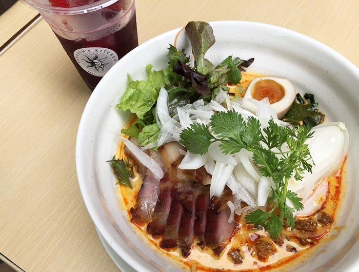 坦々叉焼冷麺セット