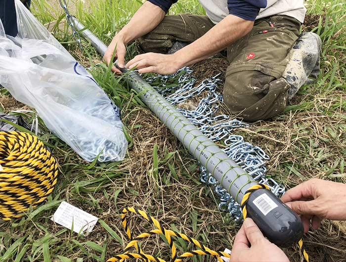 チェーン除草の新兵器を作成