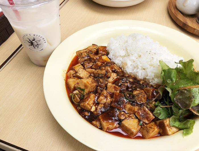 麻婆豆腐プレート