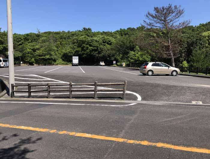 三熊山の駐車場