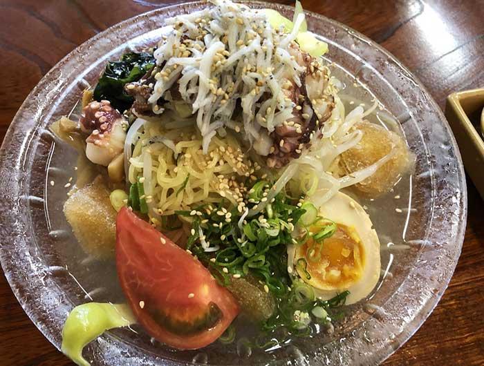 淡波家の冷麺