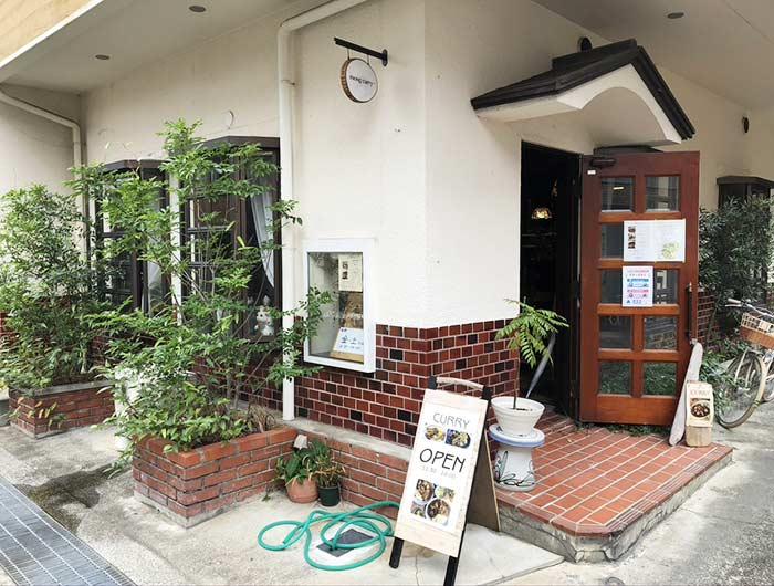 モンカレー(mong curry)の店舗外観