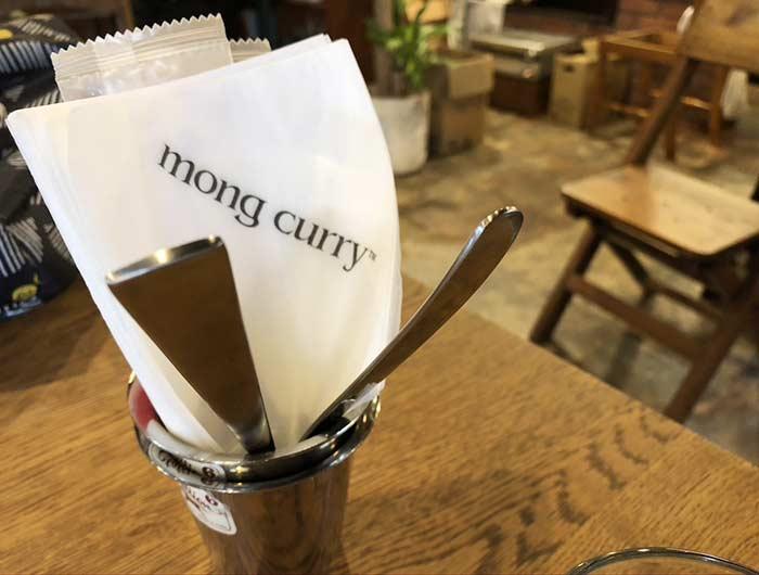 モンカレーの紙ナプキン
