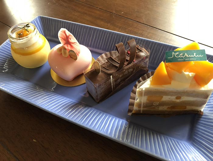 kukulu(クークル)のケーキ