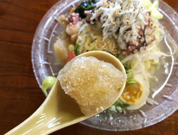 冷麺の出汁酢