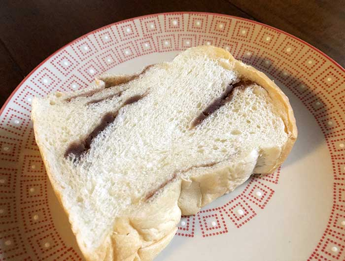 こしあん食パン