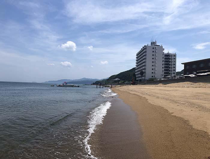 安乎(あいが)海水浴場