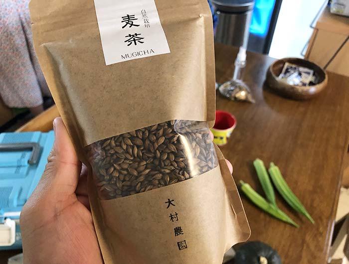大村農園の麦茶