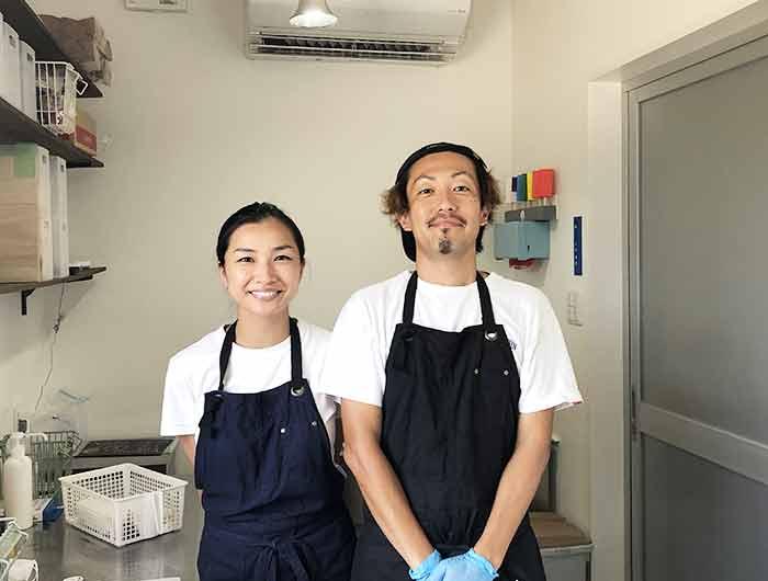 ICE-UP(アイスアップ)店主・多田さんご夫婦