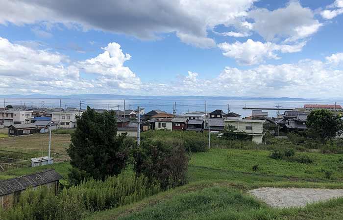kukuluから見た佐野の海