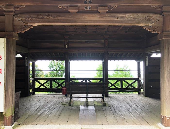 先山千光寺のビューポイント
