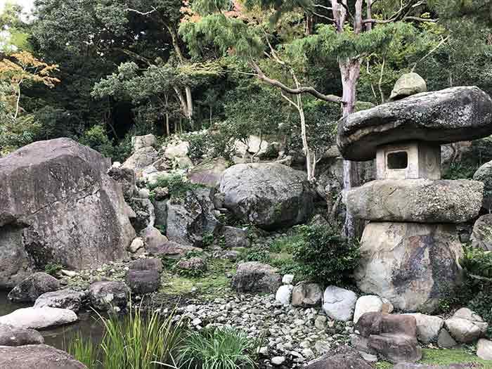 旧益習館庭園(きゅうえきしゅうかんていえん)