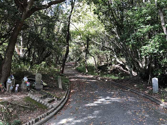 先山の登山道