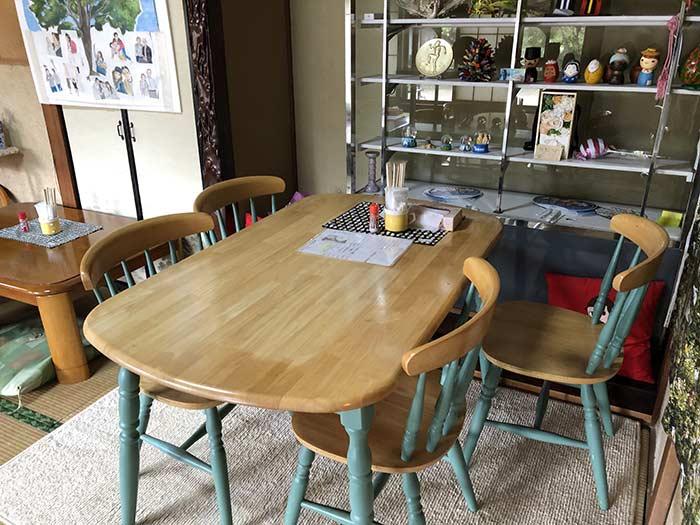 洋風テーブルセット