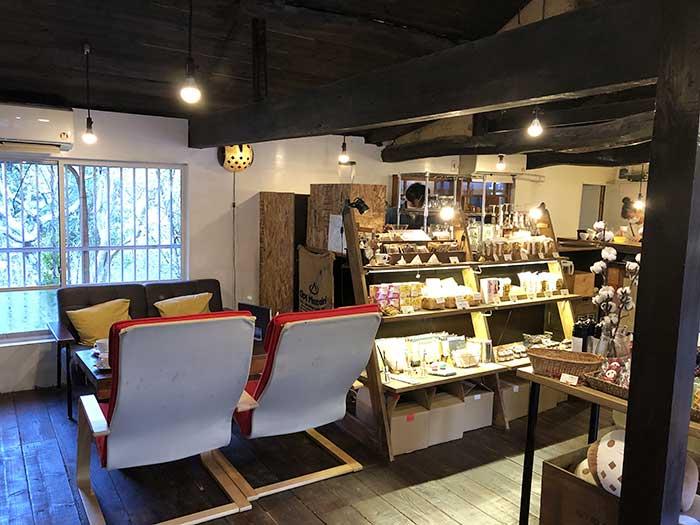 ふくカフェの店内の様子