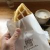 淡路島・KUSAKA HOUSEの米粉ワッフルが優しくて美味しいよ😋カフェ利用におすすめ〜🙌