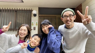 2021年の家族写真