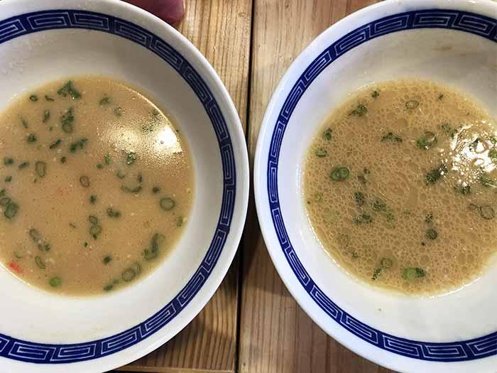 彩翔(いろと)のラーメンスープ