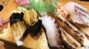 淡路島・鳴門トで誕生日ランチ❗️カウンターのお寿司は美味しいな〜😋大将も素敵でした