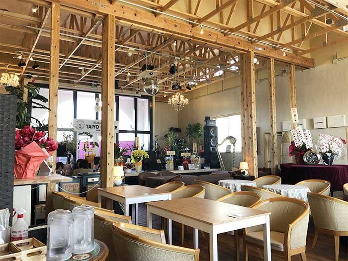 タイヨー珈琲の店内風景