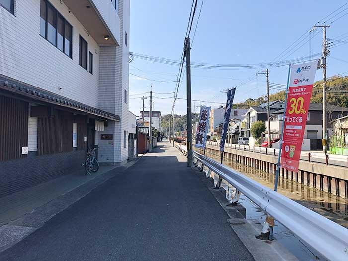 竹一の店舗前の様子