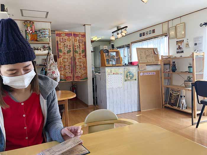 ノラ's caféの店内の様子