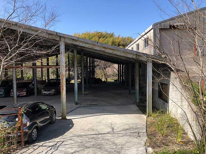 HIRAMATSUGUMIの駐車場