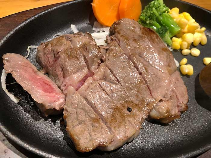 淡路牛ステーキ定食