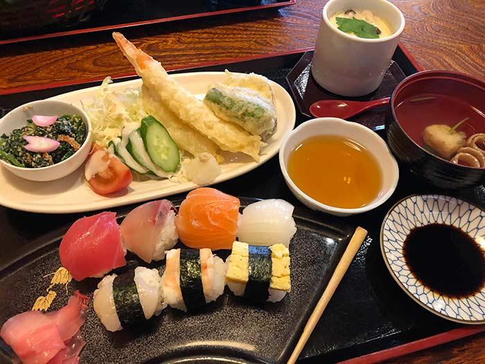 手まり寿司膳