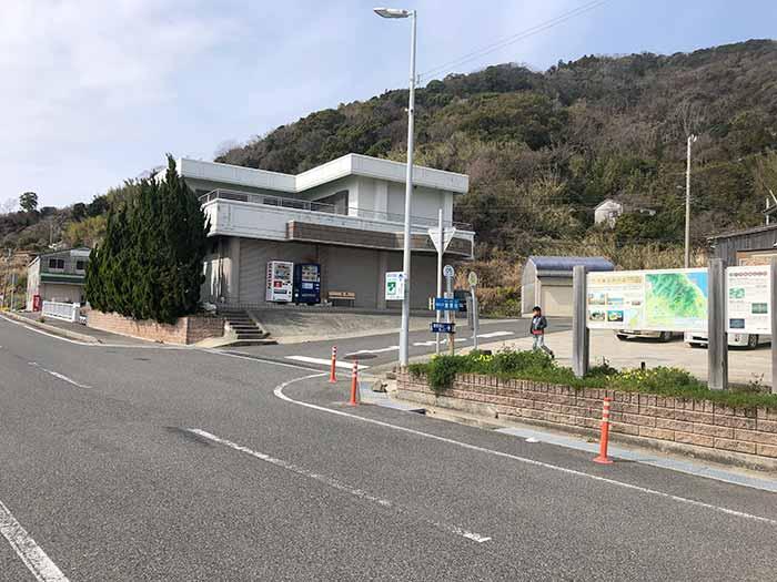 灘黒岩にある駐車場
