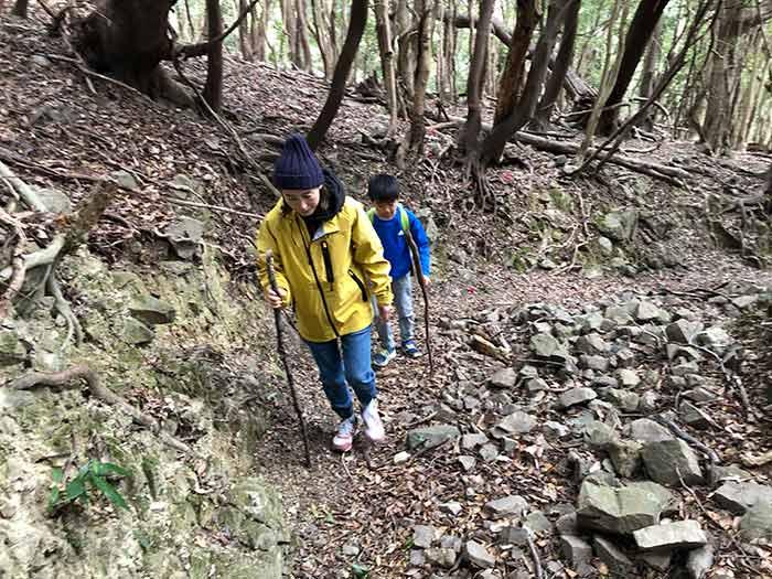 表参道コースを登山