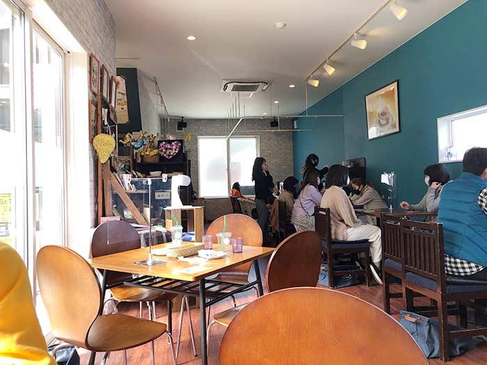 わかばカフェの店内の様子