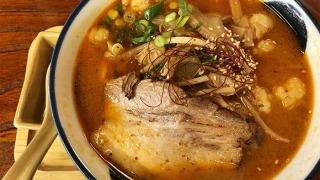淡路牛ホル麺