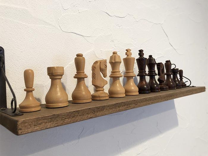 チェスのディスプレイ