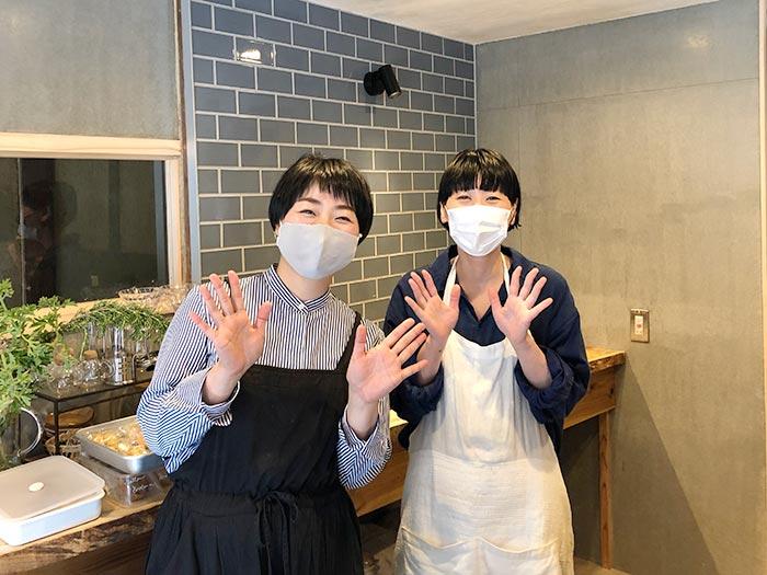 藤田祥子さんと岡田舞さん