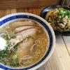 チャーシュー麺と高菜チャーハン