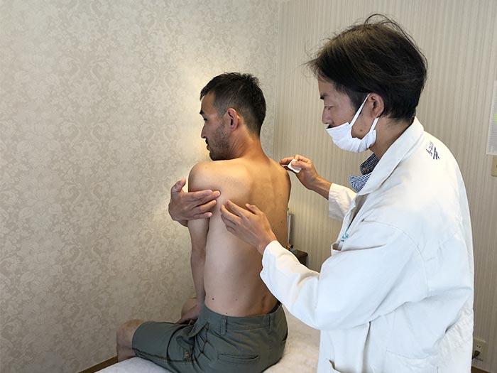 四十肩の治療