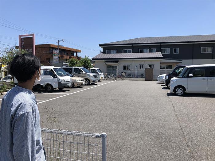 花水木総合ケアセンターの駐車場