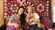 淡路島・のらで2週連続イベント❗️刺繍Bohemians Caravanやってるよ〜😙【2021.6.25-27/2021.7.2-4】