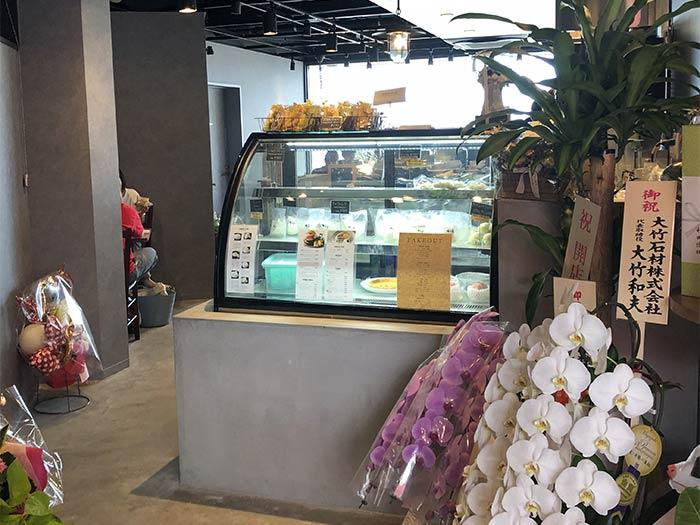 淡路島チーズ工房の店内の様子