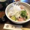 淡路島・春吉で、至極のサワラあぶり丼ランチ❗️塩で、玉ねぎポン酢で、わさびやガリで