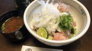 淡路島・春吉で、至極のサワラあぶり丼ランチ❗️塩で、玉ねぎポン酢で、わさびやガリで🤤いろんな食べ方が楽しめるよ〜😙