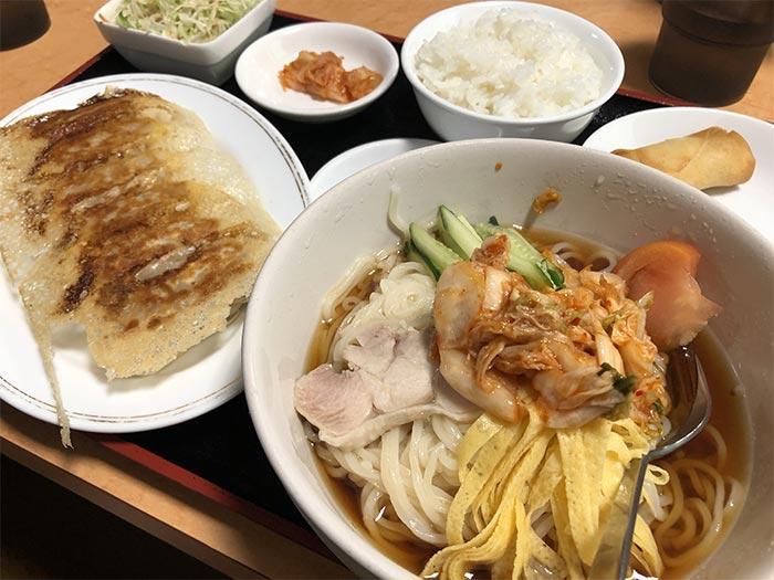 冷麺セット