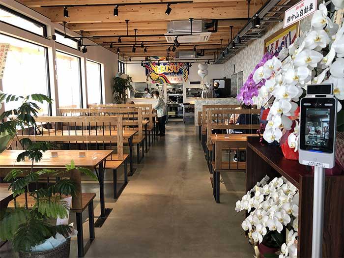 淡路島海鮮りうの店舗内の様子
